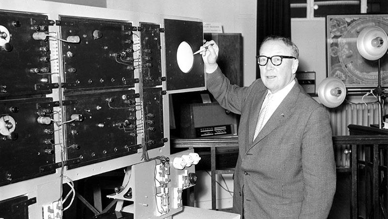Шотландский физик сэр Роберт Уотсон-Уотт