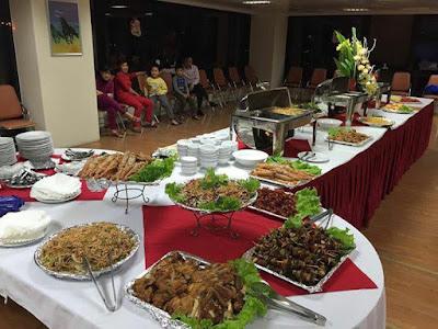 Đặt tiệc buffet ở hà nội