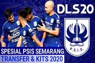DLS Mod Psis Semarang Kits & Transfer Shopee Liga 1 Indonesia 2020/2021 HD