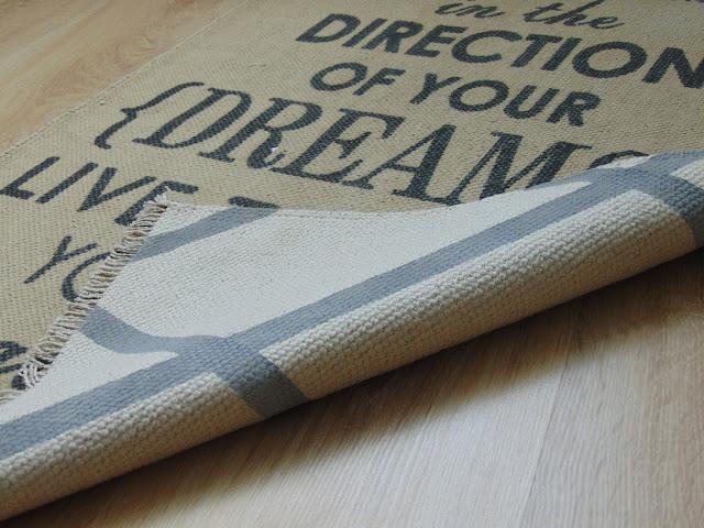 jak zrobić dwustronny dywanik