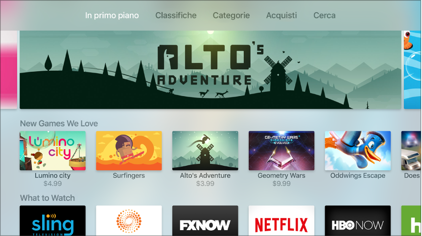 come scaricare e installare netflix su apple TV