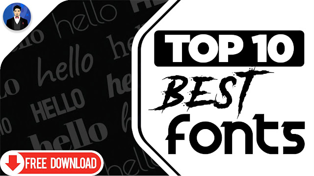 Download Top 10 Best Free Fonts to Use in 2020 +Free Download Link ...