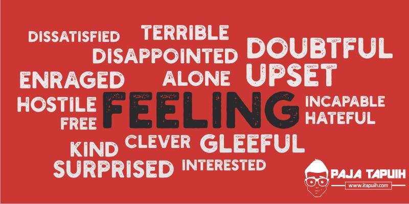 269 Kosa Kata Bahasa Inggris Emotions and Feelings (Perasaan)