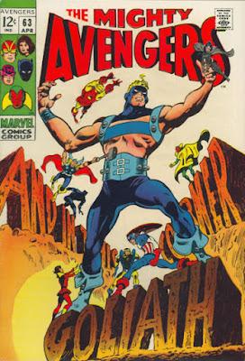Avengers #63, Goliath