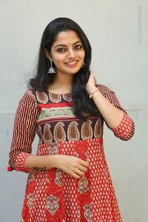 Telugu Actress Nikhila Vimal Latest Stills in Anarkali Dress  0027.JPG