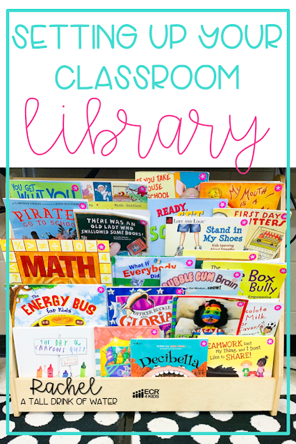 Classroom library set up doesn't have to be hard.  Setting up your classroom library just takes some planning and time.
