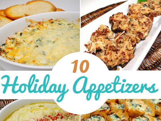 10 Holiday Appetizers to Whet Your Appetite