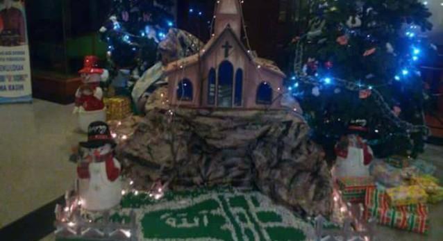 Terkuak! Inilah Tersangka yang Menulis Lafaz Allah di Pohon Natal di Jambi
