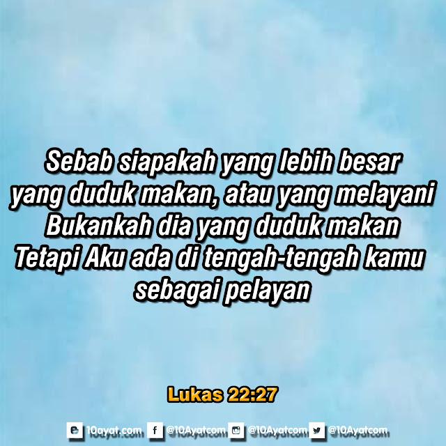 Lukas 22:27