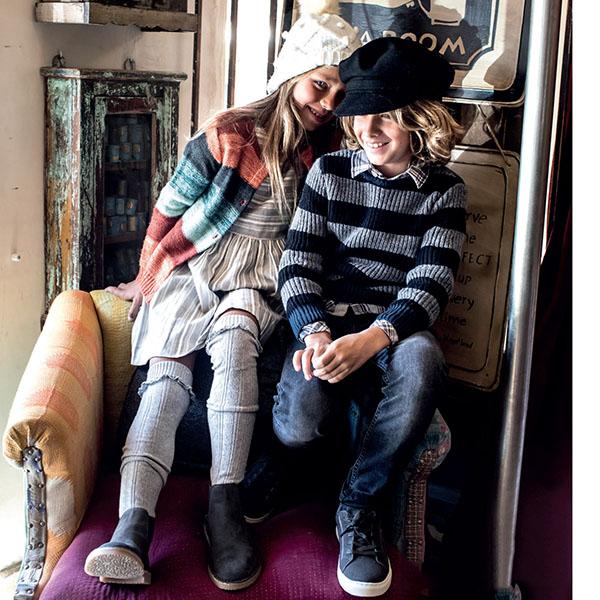 Moda invierno 2018. Moda sweaters, cardigans, sacos tejidos otoño invierno 2018. Ropa para niños invierno 2018.