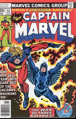 Captain Marvel #53, Black Bolt