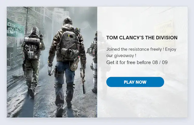 Game Tom Clancy's The Division PC Gratis Permanen