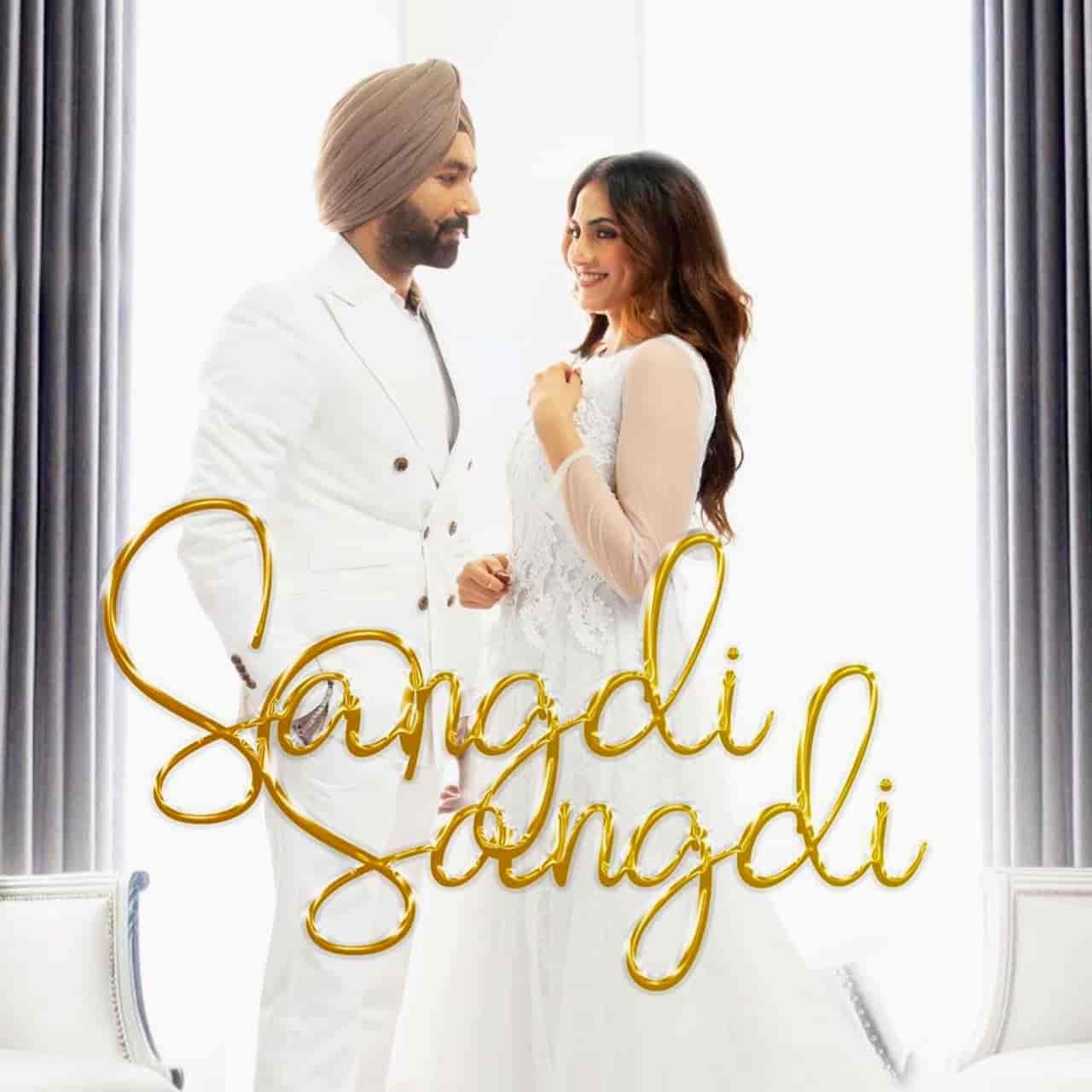 Sangdi Sangdi Punjabi Song Image Features Tarsem Jassar Nimrat Khaira