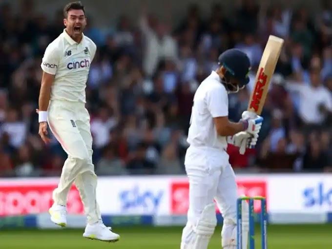IND Vs ENG: एंडरसन के लिए कोहली को आउट करना था बेहद खास, टीम इंडिया के कप्तान को दिखाना चाहते थे यह बात