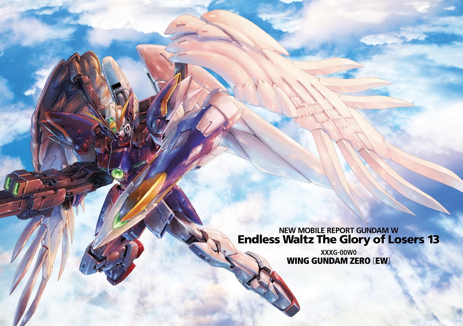 Wing Gundam Zero Neo Bird Mode Gundam Wing Endless Waltz Glory