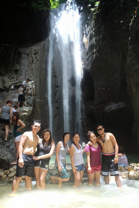 Beauty of Binalayan or Hidden Falls in Samboan Cebu - 2015