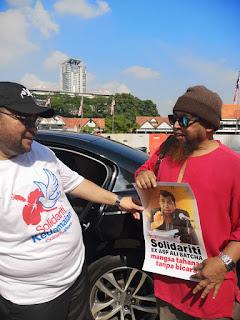 Datuk Mujahid tak layan pun pemintaan sokongan solidariti atas tuntutan keadilan.