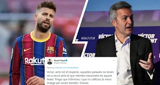 Pique slams Victor Font for trying to involve him in presidential campaign