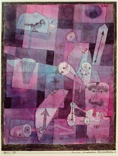 Paul Klee painting - Analysis of Diverse Perversities