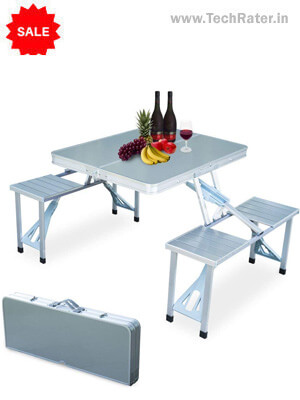 Portable Folding Table & Chairs