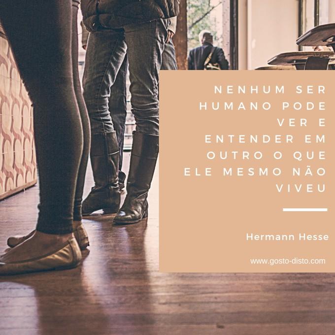 Pensamento de Hermann Hesse