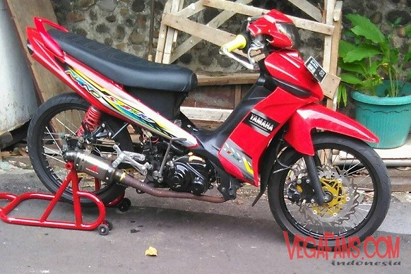 Modifikasi Vega ZR Road Race Spark Nano