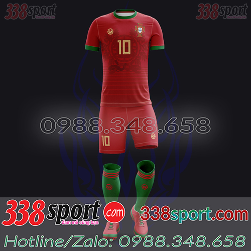 Áo Đội Tuyển Bồ Đào Nha Đặt May Theo Yêu Cầu - Mã BDN 04