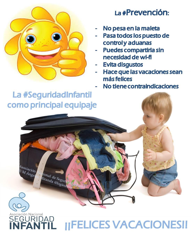 M Ángeles Miranda es Vicepresidenta de la Asociación Nacional de Seguridad  Infantil, prevencionista pero solo para niños, como ella bien apunta, ... ccbd420dc6