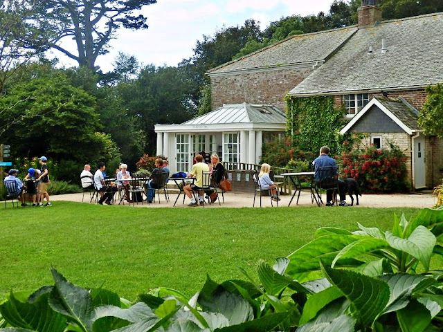 Cafe at Lost Gardens of Heligan