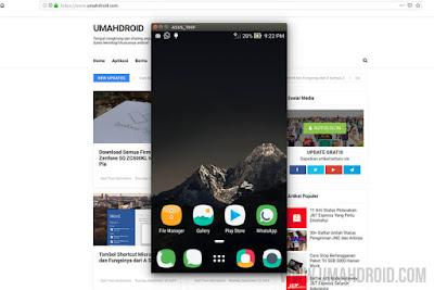 Menampilkan Layar Android ke Laptop dengan USB