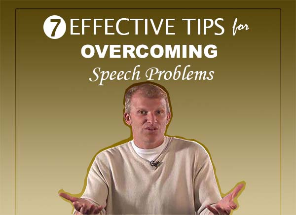 How To Overcome Speech problems
