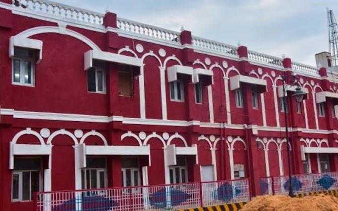 संस्कृत विश्वविद्यालय केर स्वरूप मे दड़िभंगा जंक्शन