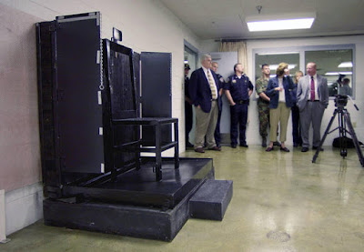 Utah's firing squad execution chair