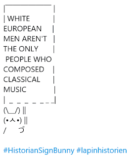 """White European men aren't the only people who composed classical music."""