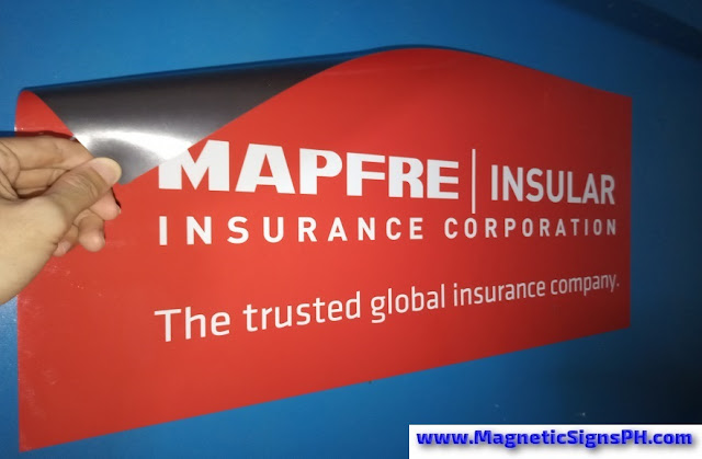 MAPFRE Logo Magnetic Signs