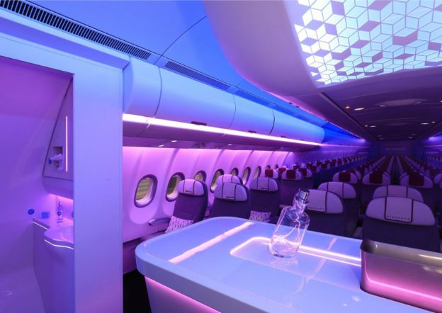 Airbus A330-800neo cabin