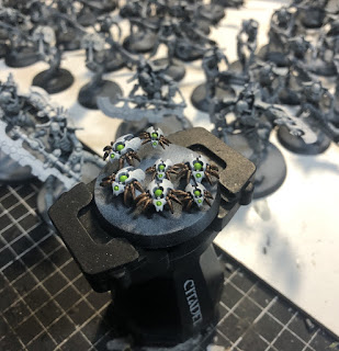 Necron Scarab painted with Games Workshop Contrast Paints