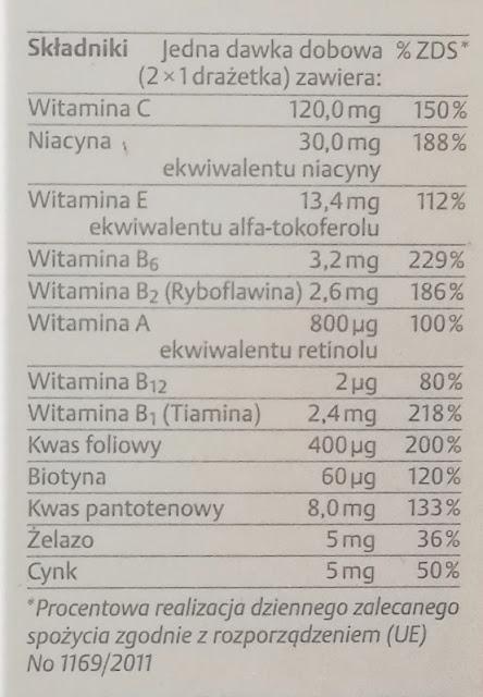 Merz special tabletki skład