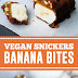 Vegan Snickers Banana Bites #vegan #snickers