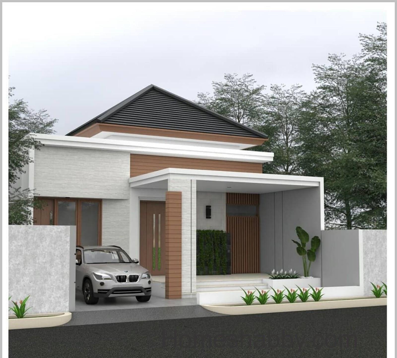 Desain Dan Denah Rumah Ukuran 9 X 22 8 M Konsep Minimalis Sederhana Dengan Taman Outdoor Di Samping Rumah Homeshabby Com Design Home Plans Home Decorating And Interior Design