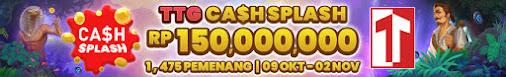 (Promo!!!) Bengkelhoki - TTG CASH SPLASH Total hadiah 150juta Rupiah