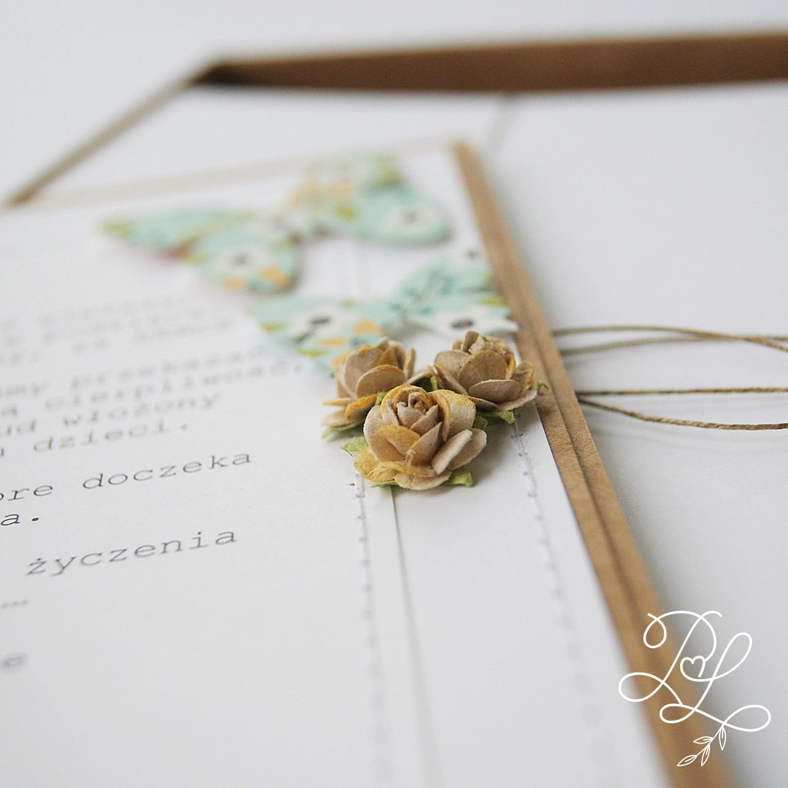 Pudełko z laurkami dla nauczyciela - Papierowe Love - sklep papierniczy i pracownia rękodzieła Katarzyna Rajczakowska.