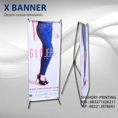 tempat cetak x banner murah di Jakarta