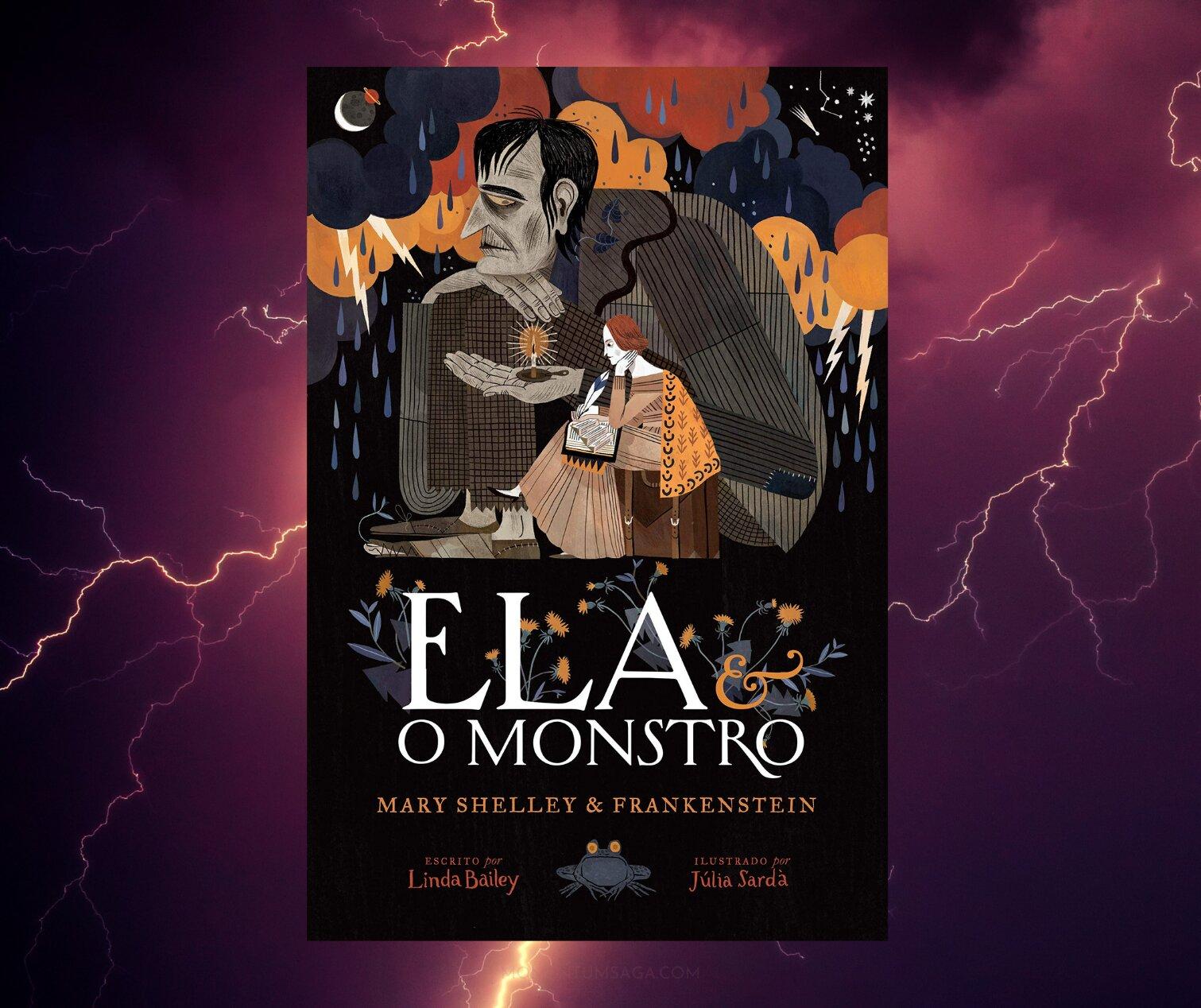 Resenha: Ela e o Monstro, de Linda Bailey e Júlia Sardà