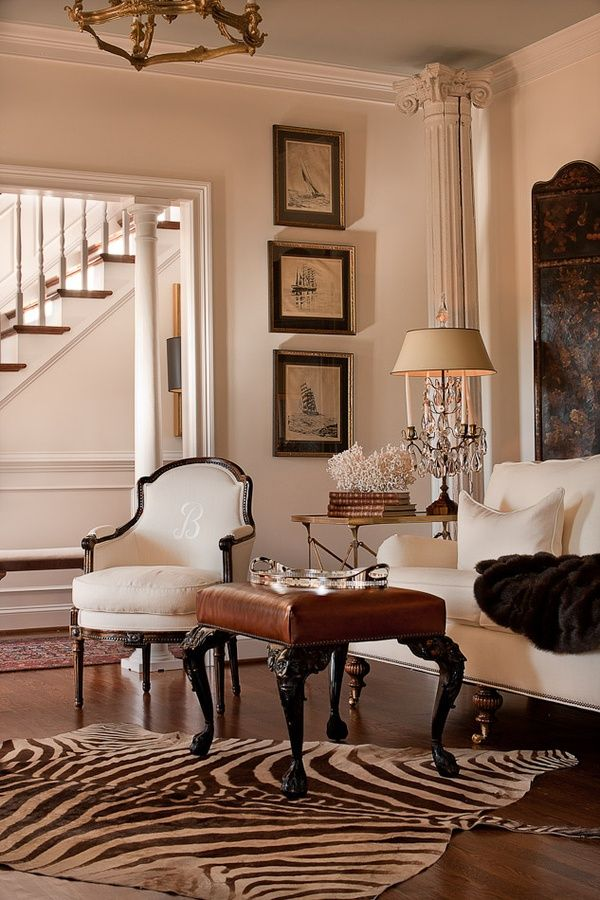 eye for design decorating with zebra rugs a contemporary classic rh eyefordesignlfd blogspot com