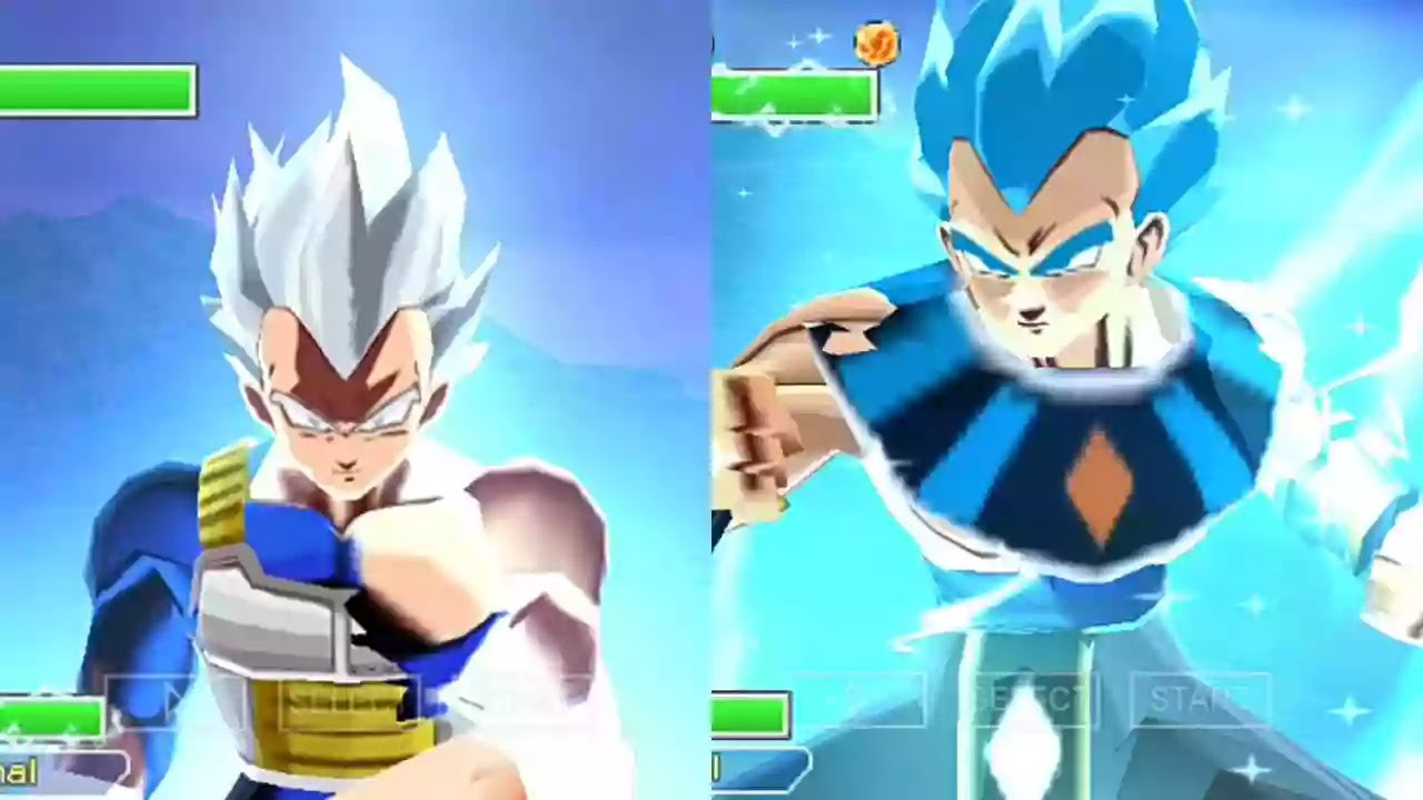 Vegeta God of Destruction Blue