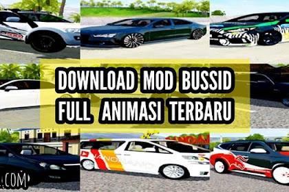 12 Download MOD BUSSID Mobil Full Anim Terbaru 2020