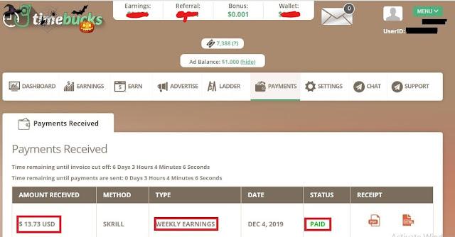 timebucks is legit ptc website