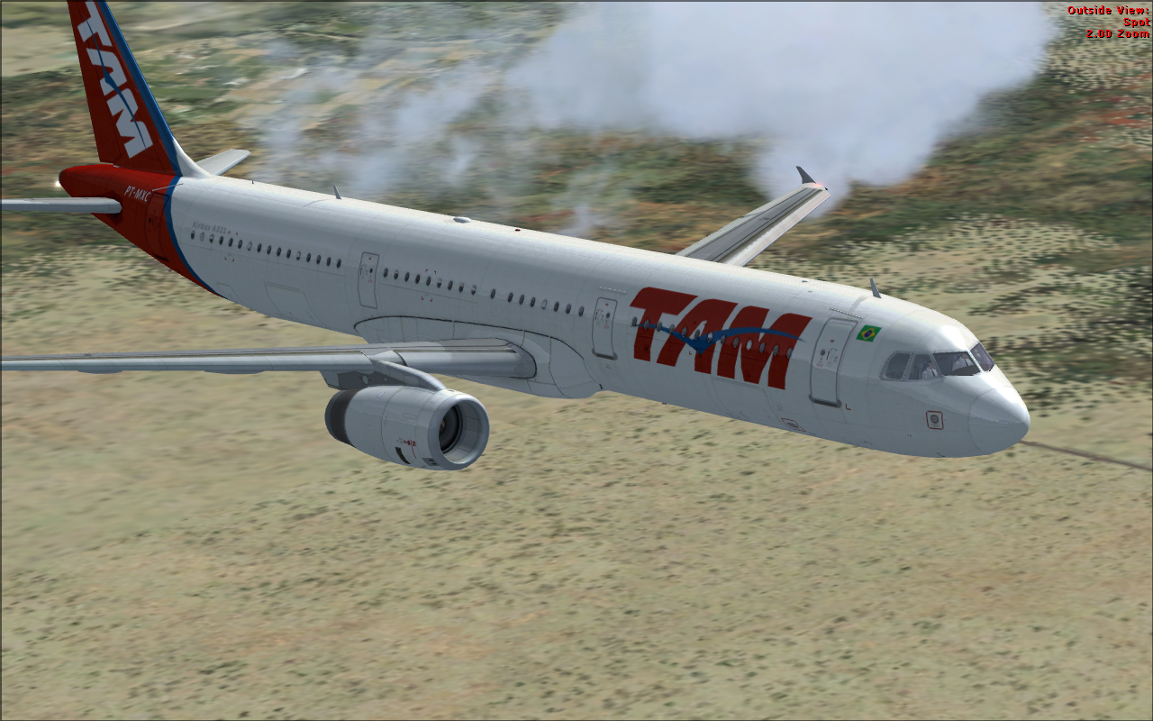 FSX Rc: Airbus A321 TAM