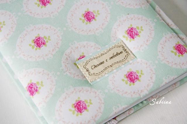 Мятный блокнот ручной работы, ежедневник своими руками, что подарить девушке и женщине, как удивить близких, подарки и сувениры hand made, мятный+розовый